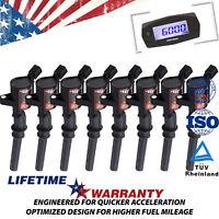 Ignition Coil 8 Pack For Ford Multispark Blaster Epoxy 4.6L 5.4L DG508 F150 F550