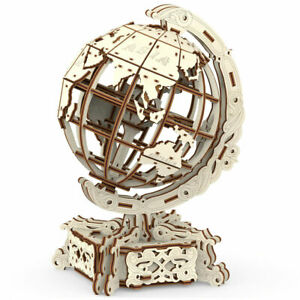 WOODEN.CITY Kinetic 3D Wooden Puzzles: World Globe