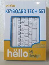 Keybord Tech Set- hello by desigh
