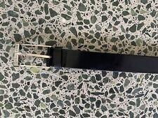 Brand new HUGO Boss Black leather dress belt. Size 90-34. Made in Italy.