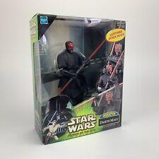 Star Wars Power of The Jedi - Darth Maul Mega Action Figure - Dual Lightsaber