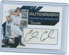 2010/11 In the Game-Cito Culver RC on card autograph-Yankees