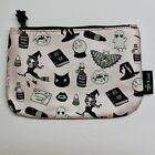 NEW Ipsy October Halloween 2016 Black Magic by Valfre Glam Bag Makeup Bag Only