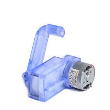 6V Hand Crank Dynamo Generator DIY Mechanical Motor Reduction Gear Box YS