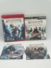 Assassin's Creed And Assassin's Creed Brotherhood Playstation 3
