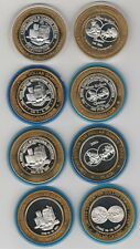 Lot Set of 8 2001-04 Silver Strike Collector Convention Strikes .999 Fine Silver