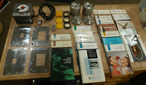 Vintage Photography Darkroom Timer Clock Developing Photo Lab, Books, Lenses LOT