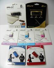Attaché PNY USB Flash Drive: Capless, Micro Sleek, Brick YOU CHOOSE