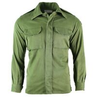 Original Spanish army jacket green Olive field combat Spain military issue