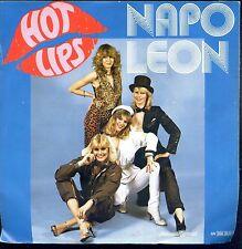7inch NAPOLEON hot lips HOLLAND EX +PS DISCO
