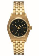 Reloj Nixon Lady Small Time Teller A399513 Gold Black