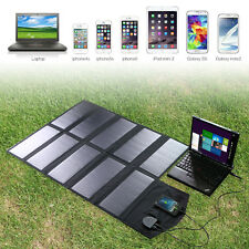 Waterproof Foldable 18V 60W Solar Panel Charger Pack for Laptop Phone Tablet US