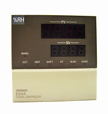 Omron E5AX Digital Temperature / Humidity Controllers 100-240 VAC 50/60 Hz 15VA