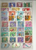 Sport Briefmarken Stamps Sellos Timbres