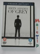 FIFTY SHADES OF GREY Unseen Edition (DVD- Double Disc Edition) Region 2