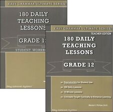 Ultimate Series: 180 Daily Teaching Lessons Grade 12 Parent & Student Workbook