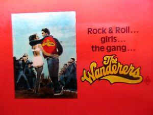 THE WANDERERS 1979 Orig drive-in cinema movie glass slide Ken Wahl Karen Black