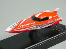 Remote Control Rc Micro Power Racing Speed Boat Rc Mini Boat -Red - 2.4Ghz