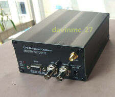 2021 10MHZ SINE WAVE Sinewave GPS DISCiPLINED CLOCK GPSDO with LCD Display
