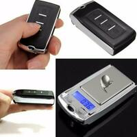 Mini High Precision Scale 200G/100G 0.01G Digital Scale Car Key Jewelry Weigher