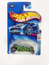2003 Hot Wheels Green Tire Fryer Wastelanders  # 175