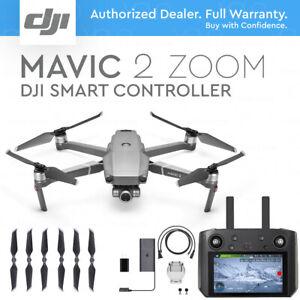 "DJI MAVIC 2 ZOOM + DJI SMART REMOTE CONTROLLER 5.5"" HD DISPLAY, 2x ZOOM 12 MP"