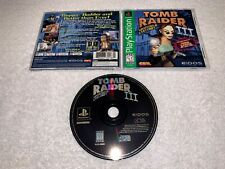 Tomb Raider Iii Adventures of Lara Croft (PlayStation 1) Ps1 Gh Complete Exc!