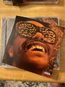 The Weeknd signed cd- Heartless and Blinding Lights