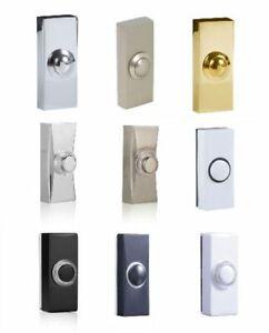 Byron Bell Push Door Bell Replacement Spare Wired Doorbell Lit/Unlit