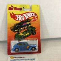 #2  Fat Fendered '40 * CHASE Red Line Tires * Hot Wheels Hot Ones * C28