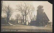 Rp Postcard Norwood New York/Ny Episcopal Church & Local Area Houses/Homes 1914