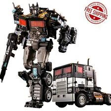 Transformers Action Figure Optimus Prime Alloy Level V New Ko Gift Movie Toy