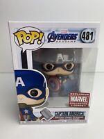 Funko Pop!Marvel Avengers Endgame #481 Captain America Collector Corps Exclusive
