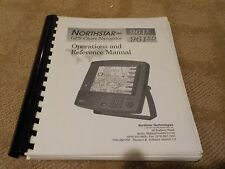 NORTHSTAR 961 X / XD GPS CHART NAVIGATOR PLOTTER - OPERATIONS & REFERENCE MANUAL