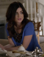 ASO Aria Montgomery Pretty Little Liars Plenty by Tracy Reese Embellished Top