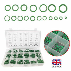 270Pcs Air Conditioning Rubber O Ring Seal Assortment Kit Green Air Con 18 Sizes