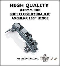 Cerniera Angolare 165 D, a clip, SELF / SOFT CLOSE, porta / armadietto hc-165