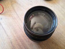 LENS JUPITER 9  85mm F2, M39 Leica screw mount, Soviet Sonnar copy