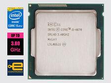 Intel Core i5-4670 3.40 GHz Quad Core - Haswell - LGA1150 - 100% Tested