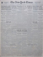 4-1935 WWII April 10 FRANCO-RUSSIAN ALLIANCE WITHIN LEAGUE REPORTED BRITAIN 80TH