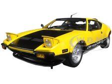 DE TOMASO PANTERA GTS YELLOW 1/18 DIECAST MODEL CAR BY KYOSHO 08852