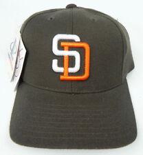 SAN DIEGO PADRES BROWN MLB VINTAGE 1990s RETRO CAP HAT NWT LOGO ATHLETIC  RARE! 4408320dd7ca