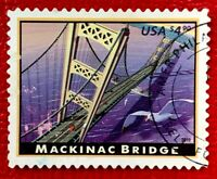 2010 US SC #4438 $4.9 American Landmarks Used