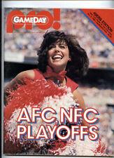 1982 NFC Playoff _RARE ORIGINAL_ San Francisco 49ers New York Giants Program NFL