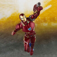 S.H.Figuarts SHF Avengers Infinity War Iron Man Mk50 Action Figure MARK50 Gift