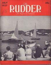 The Rudder July 1937 Three Fast Cruisers, Chris-Craft 042117nonDBE2