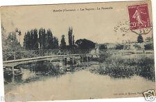 16 - cpa - RUELLE - Les Seguins - La passerelle (i 425)