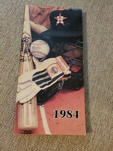 1984 HOUSTON ASTROS MLB MEDIA GUIDE BOOK BASEBALL