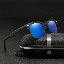 Classic Polarized Sunglasses Men Women Driving Square Frame Polaroid Sun Glasses