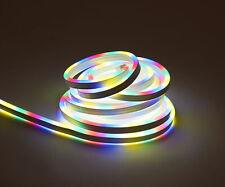 LED Licht Schlauch 5m bunt - 450 LED - Lichterschlauch Deko Beleuchtung Außen